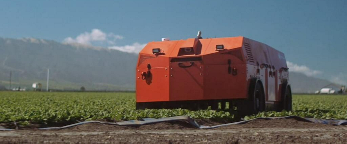 Гигантский робот-фермер сам посадит, вырастит и уберет урожай