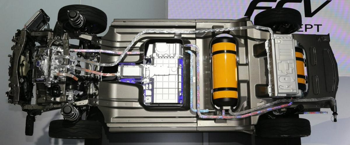 Водородные модули Toyota смогут питать энергией грузовики, корабли и поезда