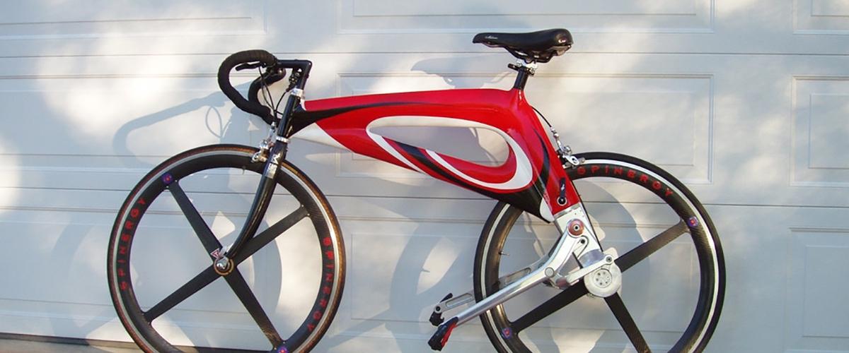 NuBike - велосипед без цепи с рычажным приводом