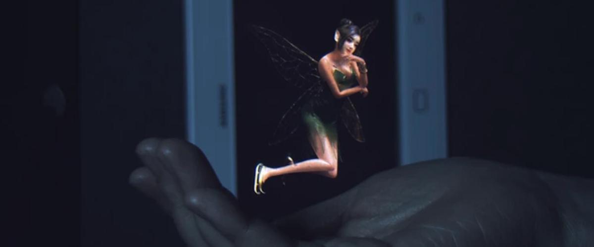 Samsung представила прототип голографического устройства