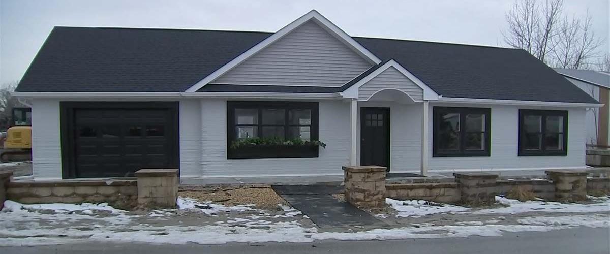 В США началась продажа первых напечатанных домов