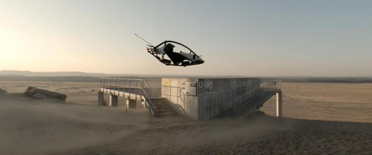 Одноместные аэромобили Jetson One распроданы на 1,5 года вперед