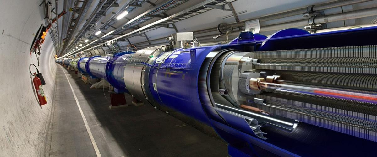 Физики БАК создали материю из света