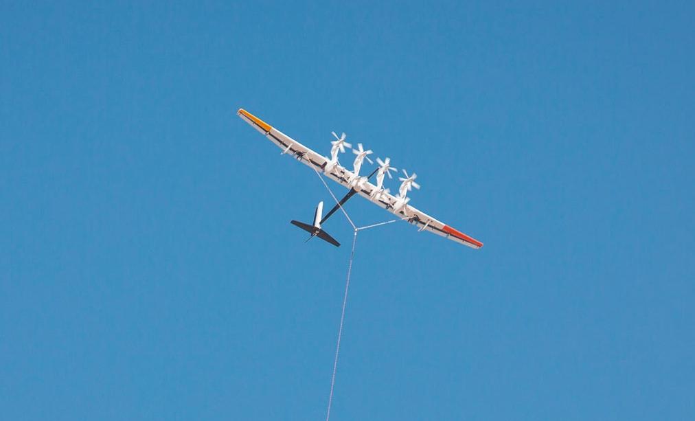 Парящие ветрогенераторы Alphabet выходят в море