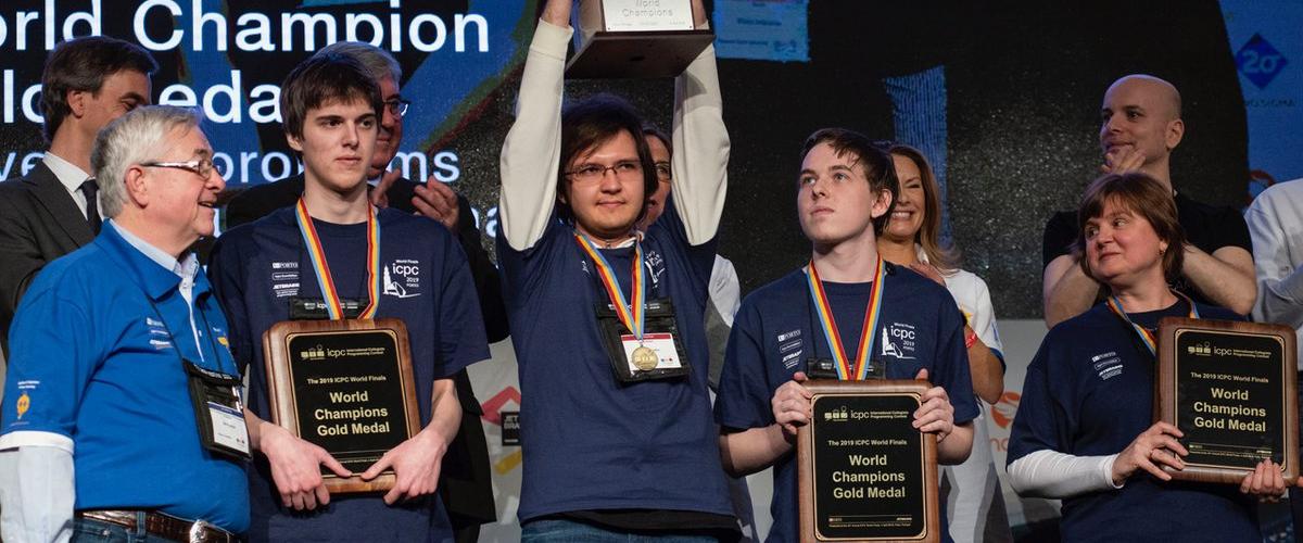 Команда МГУ снова выиграла олимпиаду по программированию ICPC