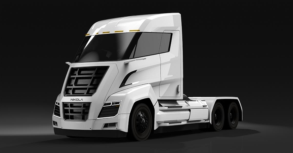 Nikola Motors выпустит электрогрузовик с огромной батареей